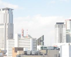 梅田のビル群
