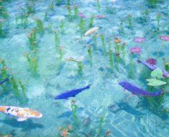 岐阜県モネの池