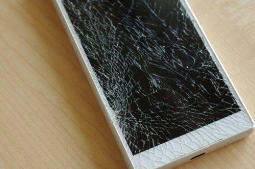 携帯電話を破壊