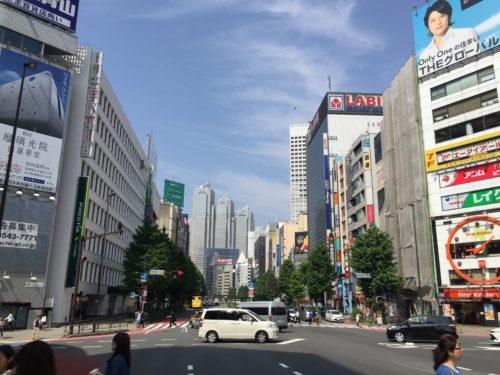 新宿歌舞伎町周辺